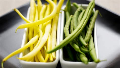 cuisiner des haricots verts frais haricots verts jaunes valeur nutritive bienfaits santé