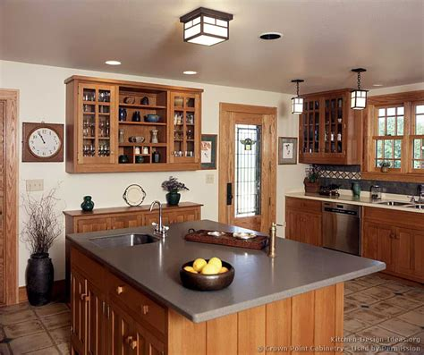 arts and crafts kitchen cabinets arts and crafts kitchens pictures and design ideas 7513
