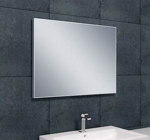 Spiegel 80 X 60 : wiesbaden aluminium spiegel 80 x 60 cm ~ Buech-reservation.com Haus und Dekorationen