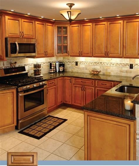 medium oak kitchen cabinets medium oak cabinets with granite countertops interior 7422