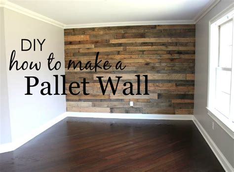 How To Make A Covered Headboard by How To Build A Pallet Wall Project Nursery