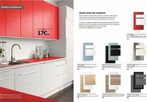 Facade Meuble De Cuisine : facade porte cuisine ikea cuisine en image ~ Edinachiropracticcenter.com Idées de Décoration