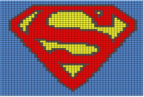 superman superhero happyhooker cross stitch pattern patterns graph knitting batman spiderman charts pixel crochet marvel super chart afghan hero hulk