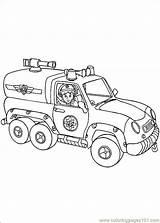 Fireman Coloring Sam Coloringpages101 sketch template