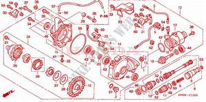 Front Final Gear For Honda Fourtrax 650 Rincon 2007