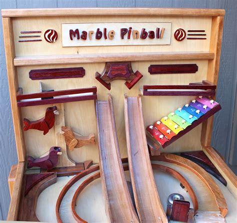 marble pinball machine woodworking plan forest street