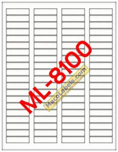 maco ml 8100 ml 8100 ml8100 5167 laser label white With maco label template