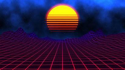 Neon Sunset Wallpapers Engine Pc Retro Steam