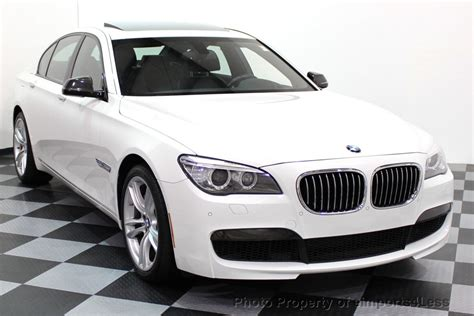 2015 Used Bmw 7 Series Certified 740i M Sport Package At