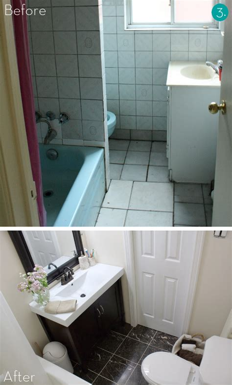 Pictures Of Small Bathroom Makeovers by Easy Bathroom Makeover Home Interior Designs And