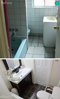 small bathroom makeovers Easy Bathroom Makeover | Home Interior Designs and ...