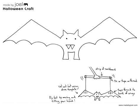 Made By Joel » Paper Bat Puppet  Halloween Kids Craft