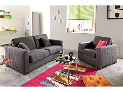 salon canapé conforama canapé convertible 2 places matelas 10 cm soflit coloris