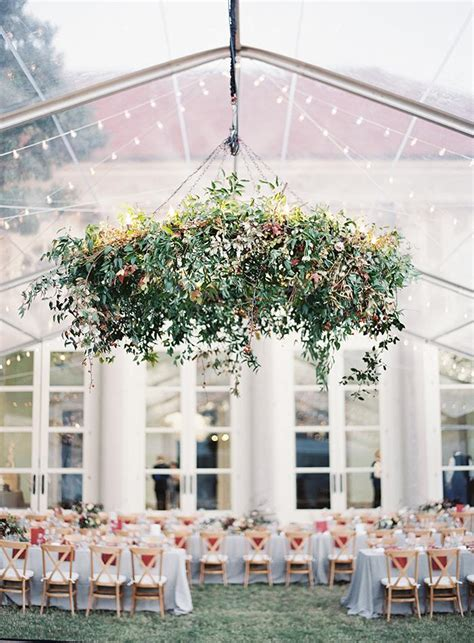 elegant clear top tent real wedding  wed