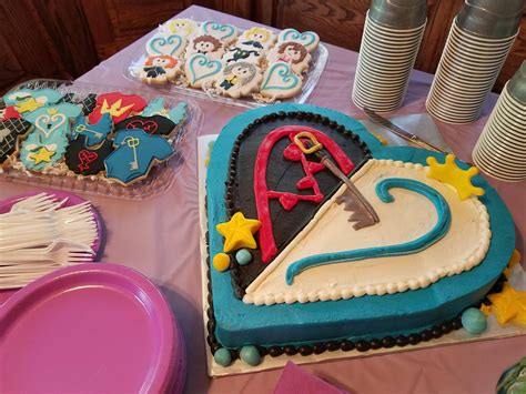 kingdom hearts baby shower    awesome desserts