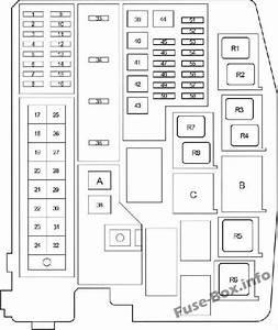 Fuse Box Diagram  U0026gt  Toyota Avensis  T27  T270  2009