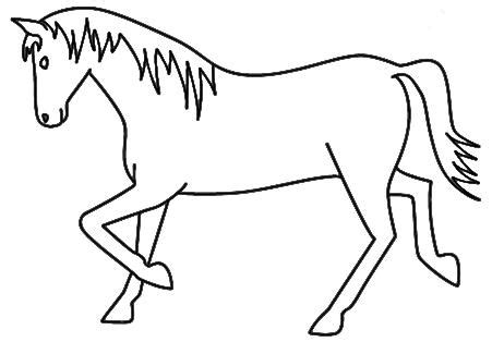 animal outline drawings clipart