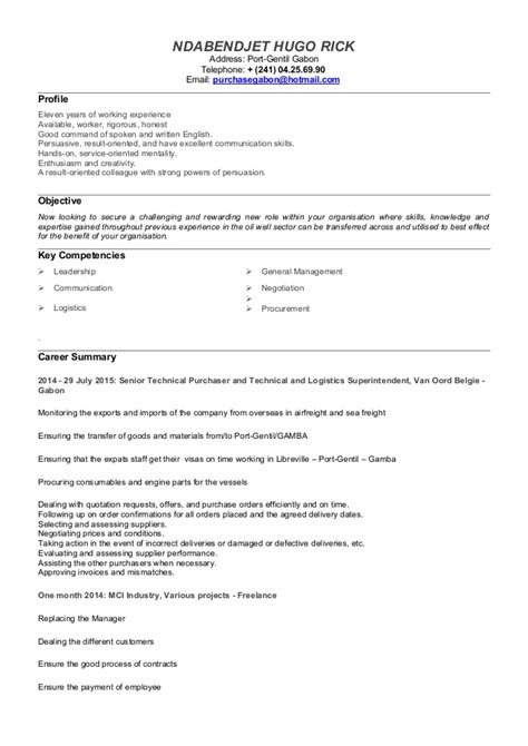 Cv Profile Exles Career Change by Career Change Cv Template