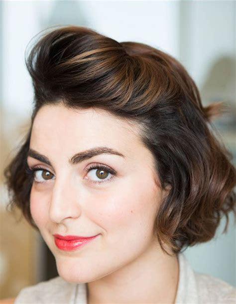 Coupe courte coiffure ru00e9tro u00e9tu00e9 2016 - Les plus belles coupes courtes de 2018 - Elle