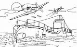 Carrier Aircraft Coloring Transportation Printable Coloriage Kb Drawing sketch template