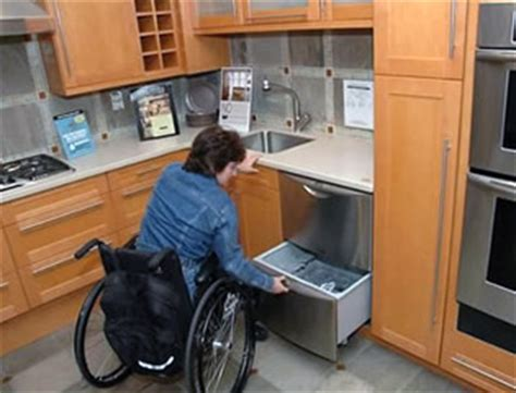 kitchen design for wheelchair user accessibility modifications and remodeling charles guinn 7935