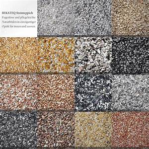 Bodenbeschichtung Aussen Rutschfest : steinteppich set f r 2qm innen und aussen bekateq ~ Eleganceandgraceweddings.com Haus und Dekorationen