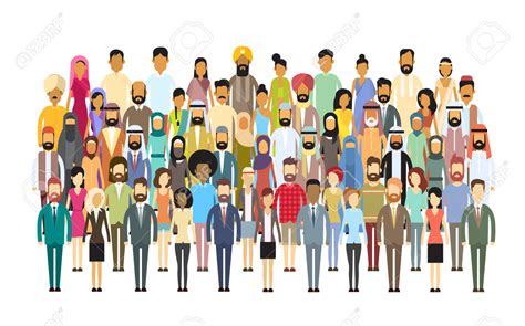 Crowd Clipart Diversity Person