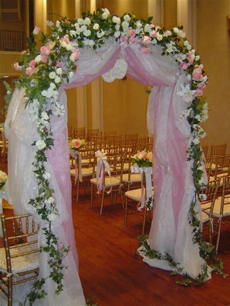 wedding arch blue instead of pink wedding ideas