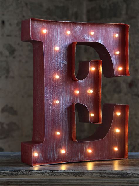 led wall art battery operated   lighted metal letters love