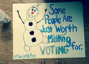 Student council Campaign poster | Craft | Pinterest ...