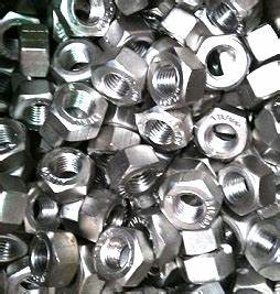 Metal Specifications Chart Stainless Nuts And Bolts Construction Fasteners