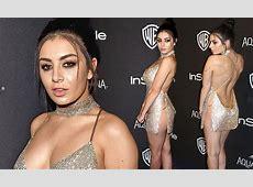 Charli XCX goes underwearfree at Golden Globes 2016