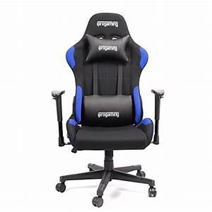 Iprotect Gaming Stuhl : iprotect gaming stuhl schreibtisch und b rostuhl f r gamer mit stoffbezug in schwarz blau ~ Watch28wear.com Haus und Dekorationen