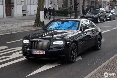 Rolls Royce Wraith Black Badge 4 Februari 2017 Autogespot