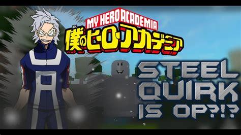 boku  hero academia roblox  quirk