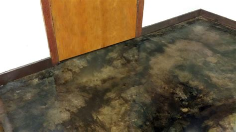 Garage Floor Paint Vs Stain by Coffee Brown Acid Stain Photo Gallery Direct Colors Inc