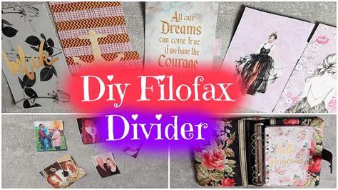 Diy Filofax Divider  TrennblÄtter  Einlagen Selber