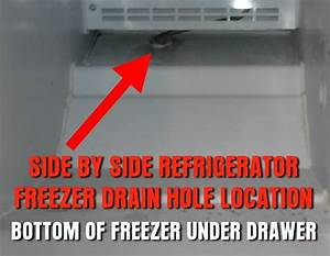 How To Unclog Drain Line On Frigidaire Refrigerator