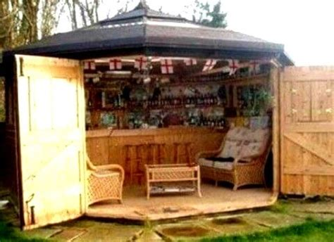 Backyard Saloon - backyard bar shed ideas