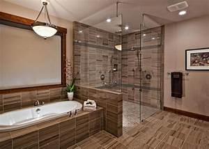 luxury walk in doorless showers Gallery