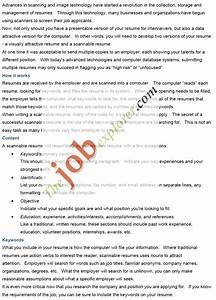 Electronic resume eresume for Eresume