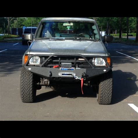 Toyota Bumper by 1984 1988 Toyota 4runner Weld Together Winch