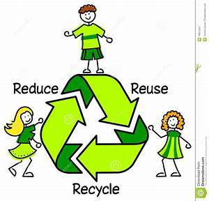 Reduce Reuse Recycle For Kids Clipart - ClipartXtras