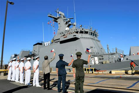 PHILIPPINE NAVY'S NEWEST WARSHIP ARRIVES IN HAWAII FOR ...