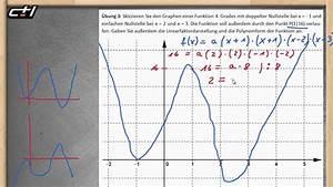 Nullstellen Berechnen Funktion 3 Grades : achsenschnittpunkte und linearfaktordarstellung polynome ab 3 grades nullstellen gegeben ~ Themetempest.com Abrechnung