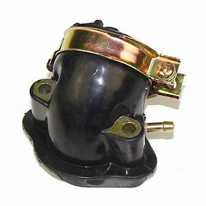 Carburetor Intake Manifold Pipe W  1tube For Gy6 Moped