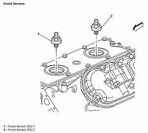I Need The Knock Sensor Locations For A 2005 Gmc Sierra