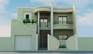 Façade Maison Moderne : d co facade maison tunisie slt en 2019 house design ~ Melissatoandfro.com Idées de Décoration
