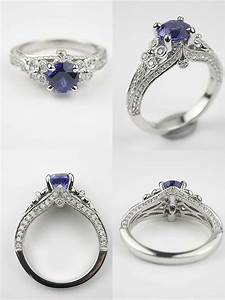 timeless beauty antique style engagement rings from With antique wedding rings pinterest
