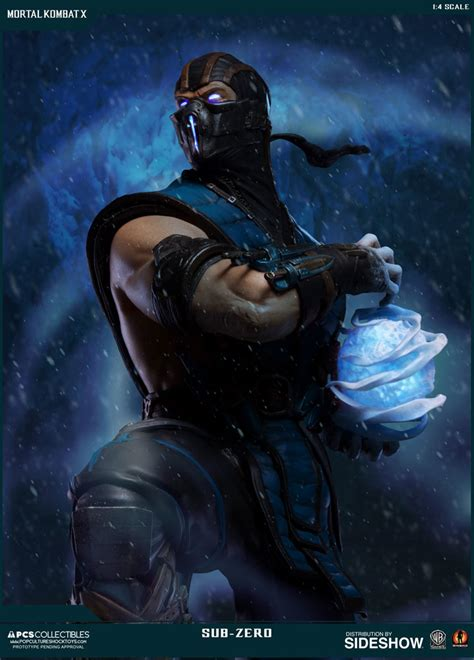 Mortal Kombat Sub Zero Statue By Pop Culture Shock